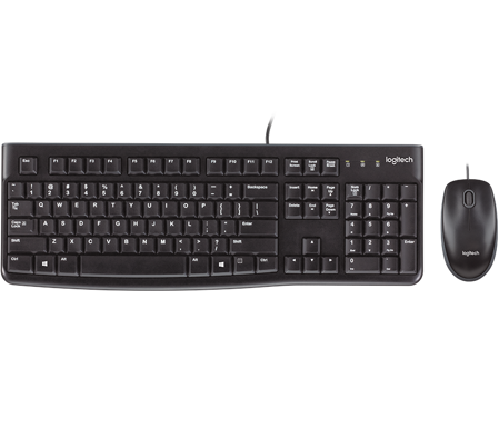 Picture of Logitech Desktop MK120  Mouse and keyboard