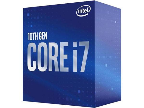Picture of CPU Intel Core i7-10700