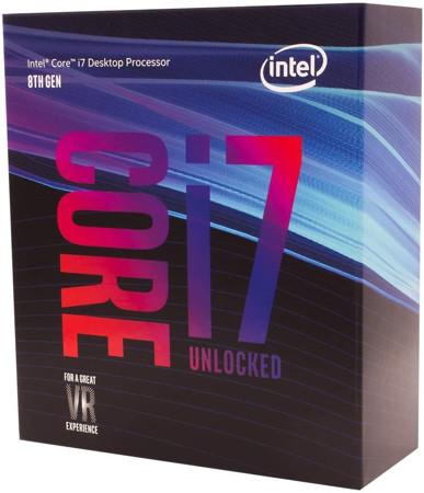 Picture of CPU Intel Core i7-8700K