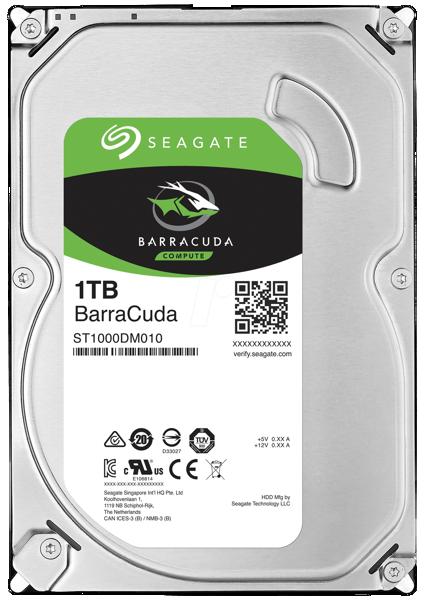 "Picture of 3.5"" Sata  seagate Barracuda Desktop Hard disk 1TB ~ 8TB"