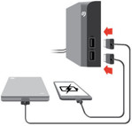Picture of SEAGATE BACKUP PLUS HUB EXTERNAL HARD DISK