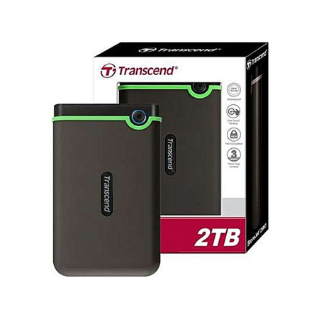 Picture of TRANSCEND ANTISHOCK EXTERNAL HDD 2TB