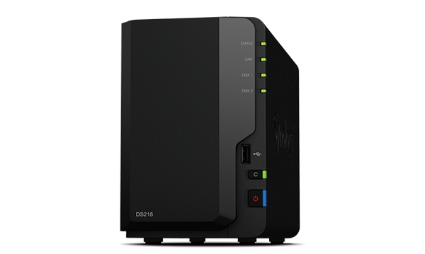 Picture of Synology 2 bay NAS DS218