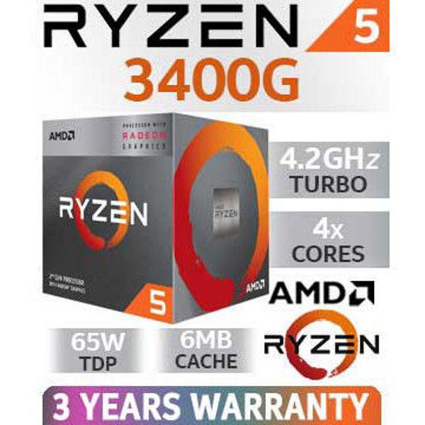 Picture of AMD Ryzen 5 3400G