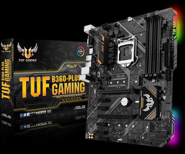 Picture of ASUS TUF B360-Plus Gaming