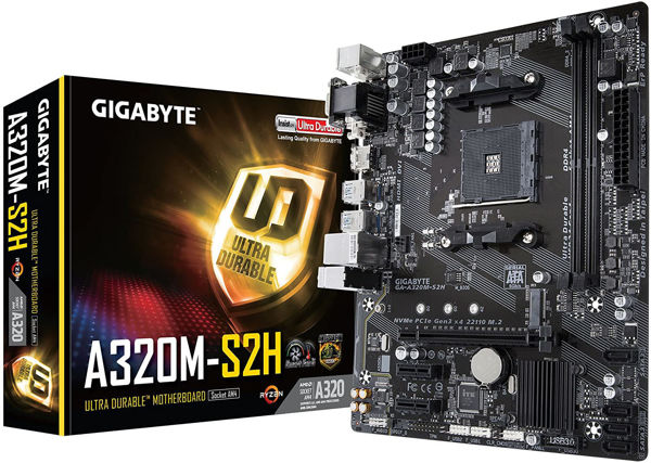 Picture of Gigabyte GA-A320M-S2H 1.1
