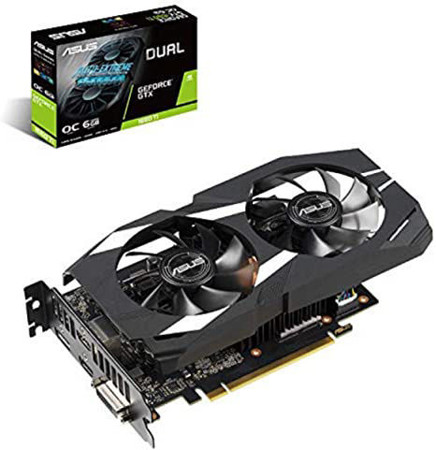 Picture of ASUS Dual GeForce GTX 1660 Ti OC edition 6GB GDDR6