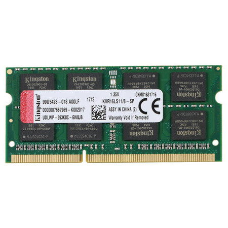 Picture of 8GB DDR3L LAPTOP RAM Kingston