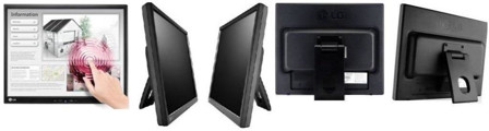 """Picture of LG 17MB15T B 17"""" Monitor Touch SCREEN"""