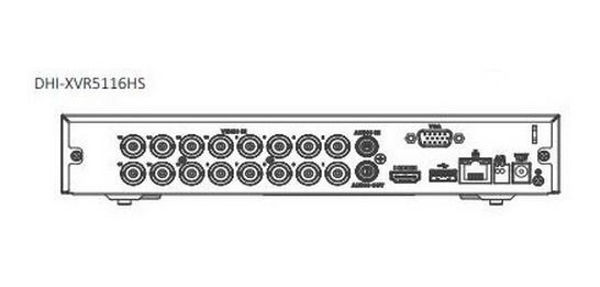 Picture of DAHUA 16 CHANNELS XVR 5MP DVR/NVR