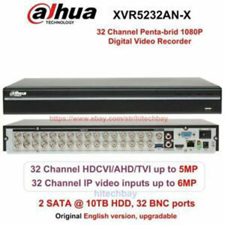 Picture of DAHUA 32 CHANNELS XVR 5MP DVR/NVR