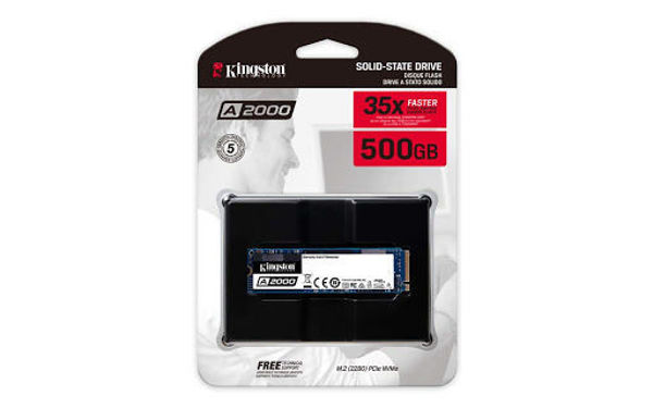Picture of Kingston NVMe 500GB M.2 - SA2000M8/500G