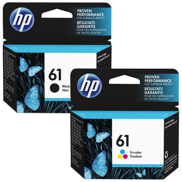 Picture of INK HP 61 BLACK & COLOR