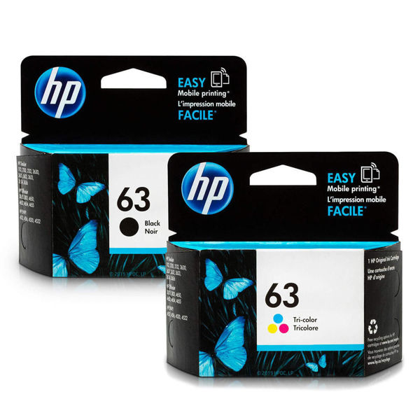Picture of INK HP 63 BLACK AND COLOR