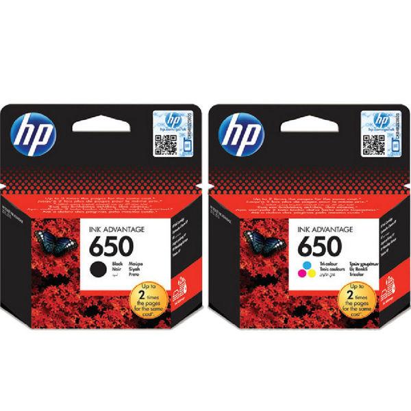 Picture of ORIGINAL INK HP 650 BLACK & COLOR