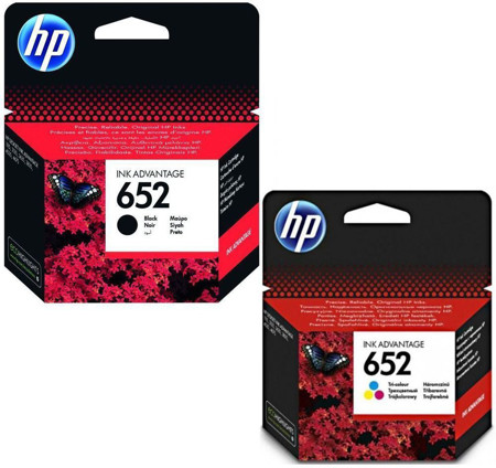 Picture of INK HP 652  BLACK AND COLOR
