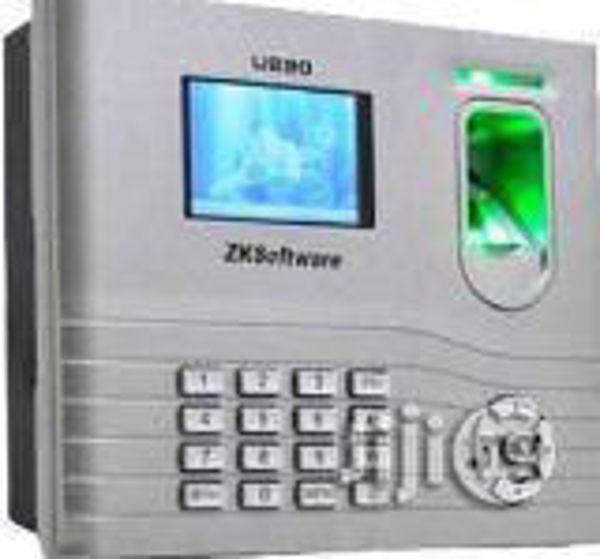 Picture of ZKT U280 Fingerprint time attendance machine