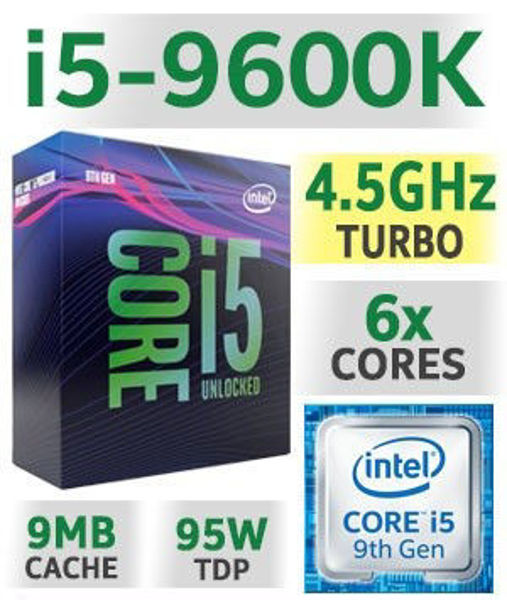 Picture of CPU CORE I5 9600K