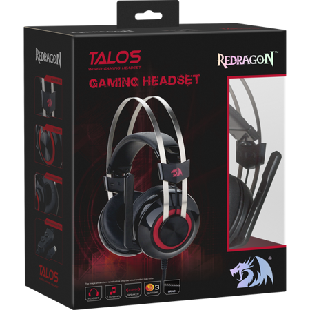 Picture of Redragon H601 TALOS Gaming Headset