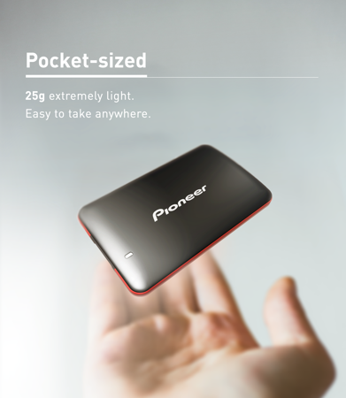 Picture of PIONEER EXTERNAL SSD