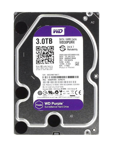 Picture of WD PURPLE 3TB HDD