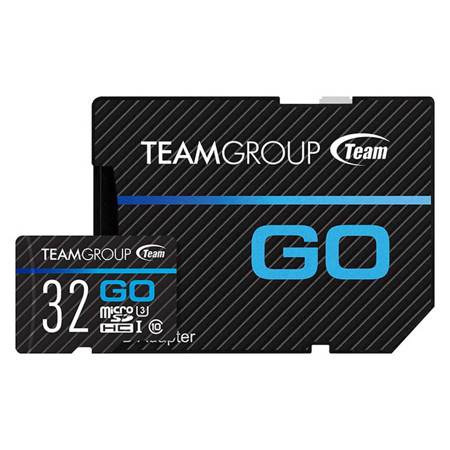 Picture of TEAM GROUP MicroSD GO Card UHS-I U3  32GB