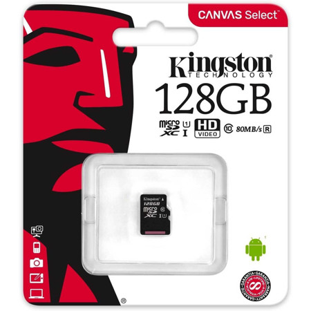 Picture of KINGSTON 128GB MICROSD MEMORY CARD