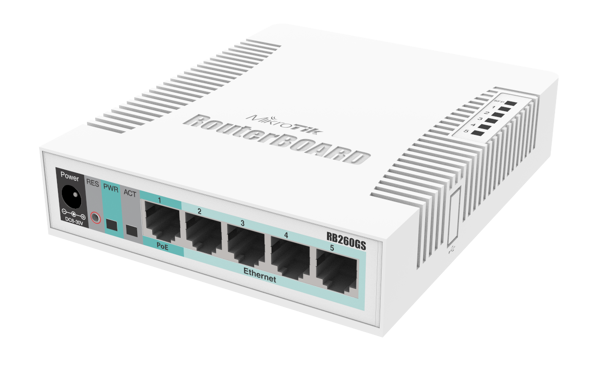 Picture of Mikrotik RB260GS