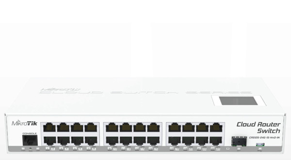 Picture of MIKROTIK CRS125-24G-1S-RM Smart Switch