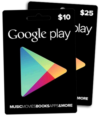 Picture of USA GOOGLE PLAYSTORE GIFT CARD 10$~100$
