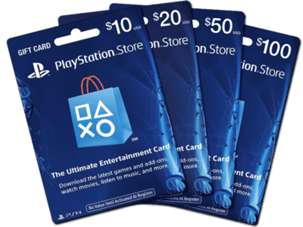 Picture of PSN GIFT CARDS 10$~100$ USA