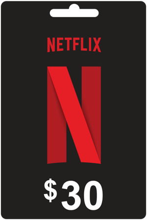Picture of NETFLIX 30 USD USA