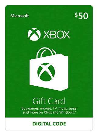 Picture of XBOBX 50$ GIFT CARD
