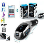 Picture of X5 Car Bluetooth Kit Wireless Fm Transmitter