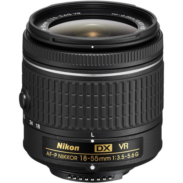 Picture of Nikon AF-P DX NIKKOR 18-55mm f/3.5-5.6G VR Lens
