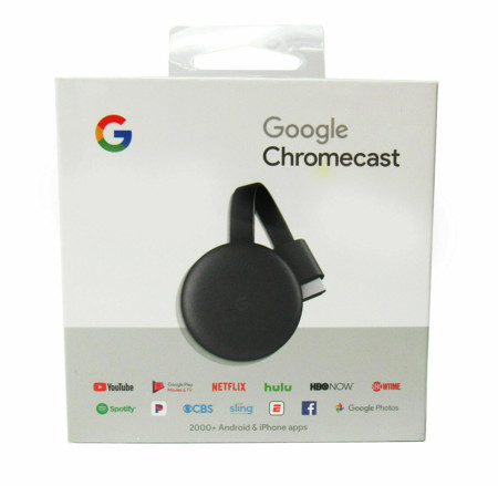 Picture of Google Chromecast (3rd Generation)