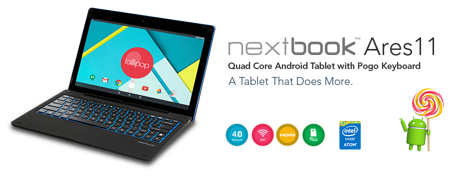 Picture of NETXBOOK 10 INCH 2 IN 1