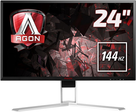 """Picture of AOC Agon AG241QX 24"""" Gaming Monitor"""