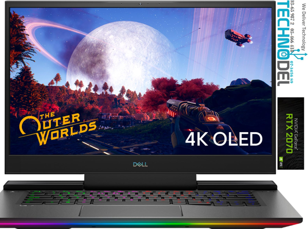 Picture of DELL G7 15 4K OLED GAMING LAPTOP